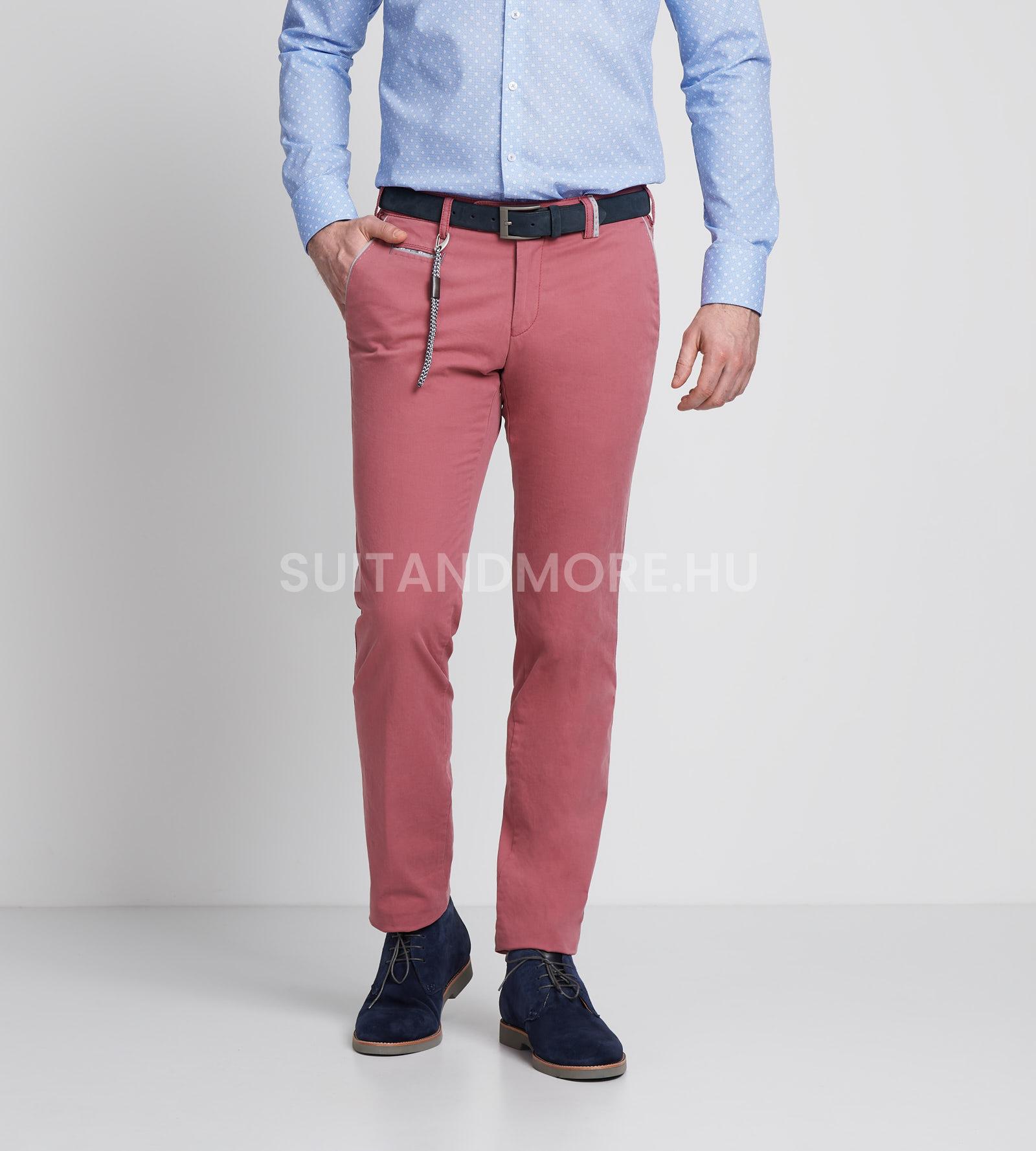 digel-piros-modern-fit-pamut-sztreccs-chino-nadrag-logan-f-88164-65