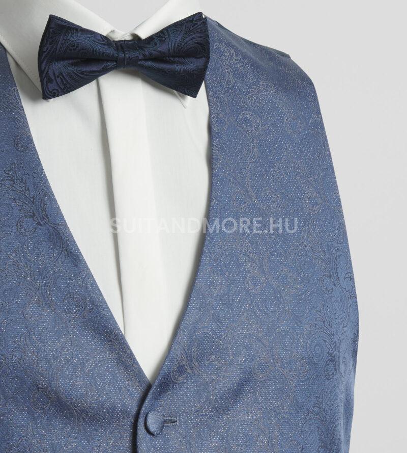 DIGEL Ceremony kék aprómintás esküvői mellény-laurent-1166962-24-02