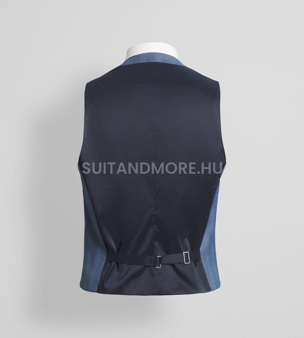 DIGEL-Move-kék-extra-slim-fit-kockás-mellény-NANNO-NATE-NICOLO-99727-25-03