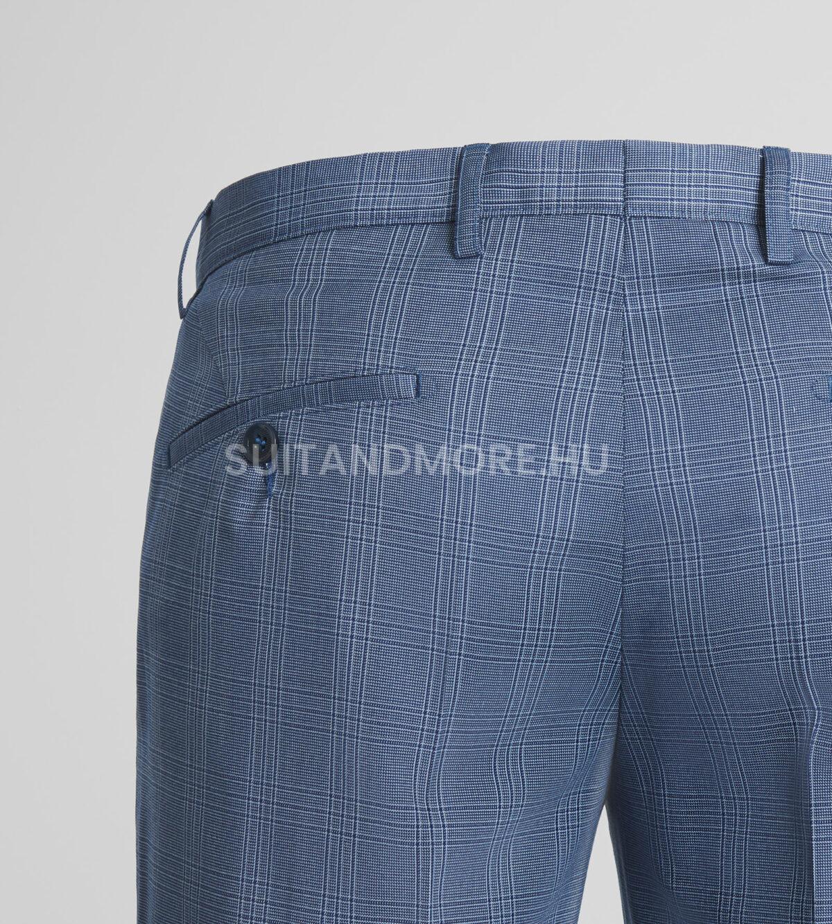 DIGEL-Move-kék-extra-slim-fit-kockás-nadrág-NANNO-NATE-NICOLO-99727-25-03