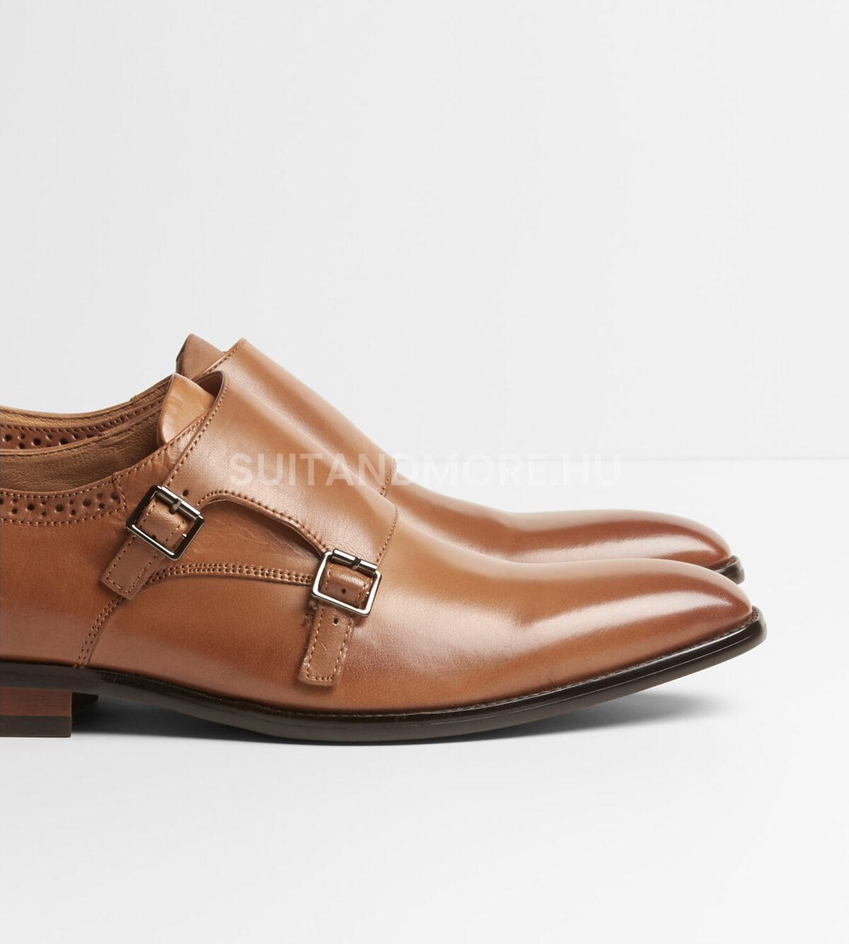 DIGEL-barna-dupla-csatos-elegáns-cipő-SALOMON-1001908-35-03