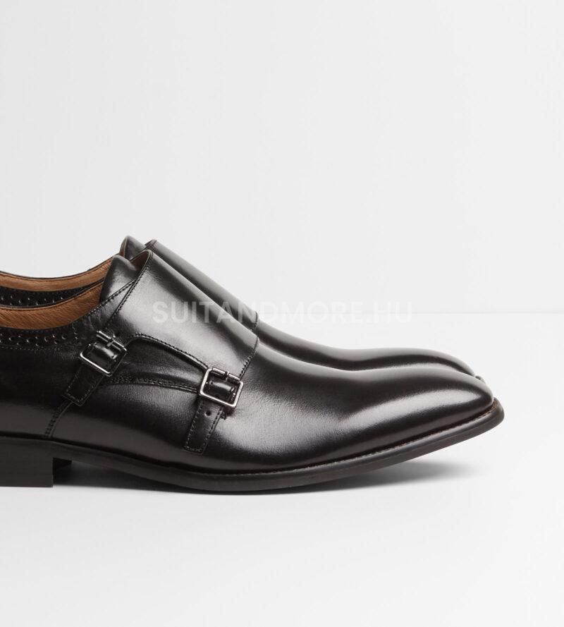 DIGEL-fekete-dupla-csatos-elegáns-cipő-SALOMON-1001908-10-02