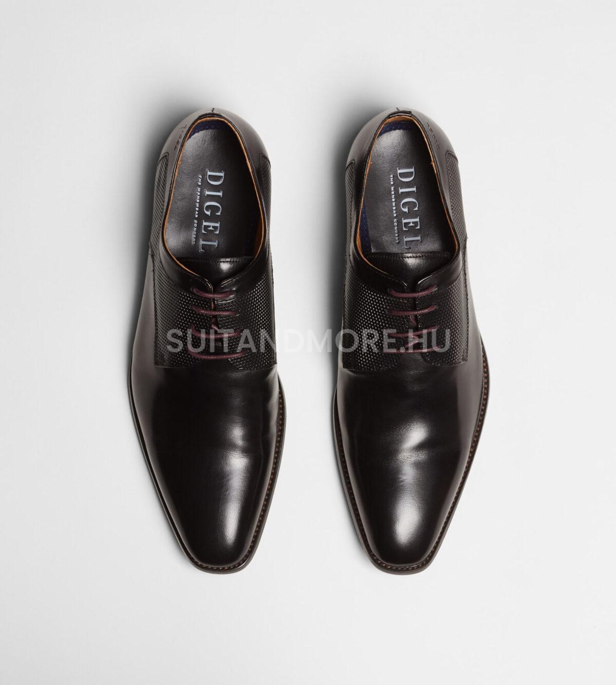 DIGEL-fekete-fűzős-elegáns-cipő-SYRAKUS-1001907-10-01