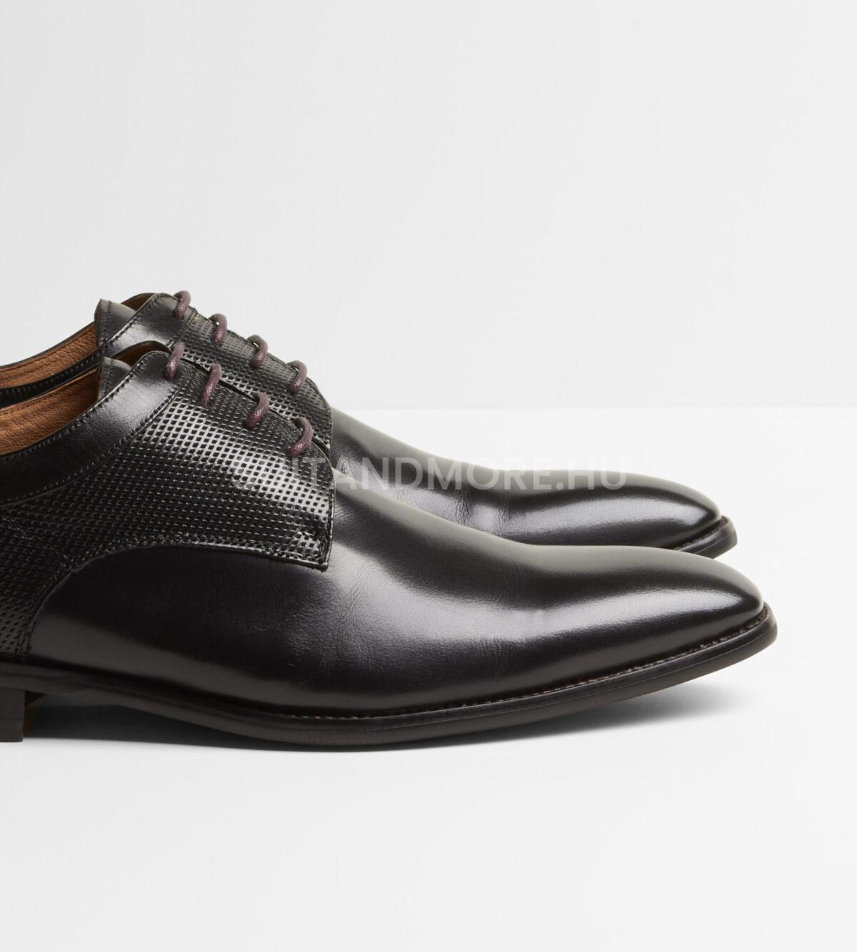 DIGEL-fekete-fűzős-elegáns-cipő-SYRAKUS-1001907-10-02