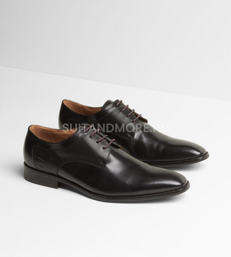 DIGEL-fekete-fűzős-elegáns-cipő-SYRAKUS-1001907-10-04