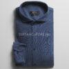 DIGEL középkék slim fit jersey ing-ANSA1-1-1277043-20-01