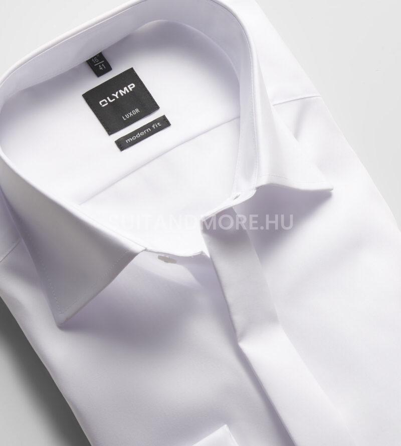 OLYMP-Luxor-fehér-modern-fit-vasalásmentes-ing-0394-70-00-02