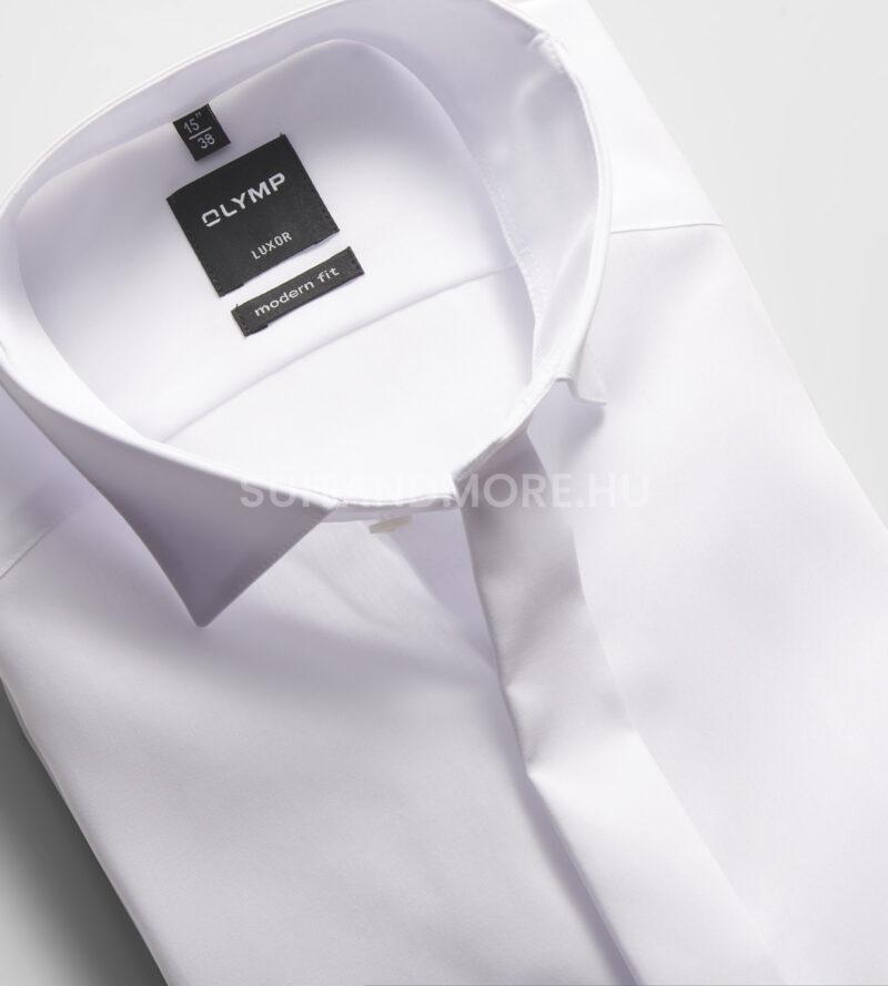 OLYMP-Luxor-fehér-modern-fit-vasalásmentes-ing-0395-65-00-02