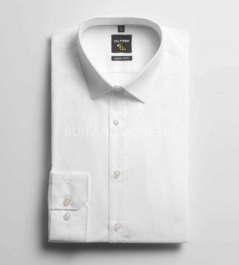 OLYMP-fehér-extra-slim-fit-vasaláskönnyített-ing-0466-64-00-01