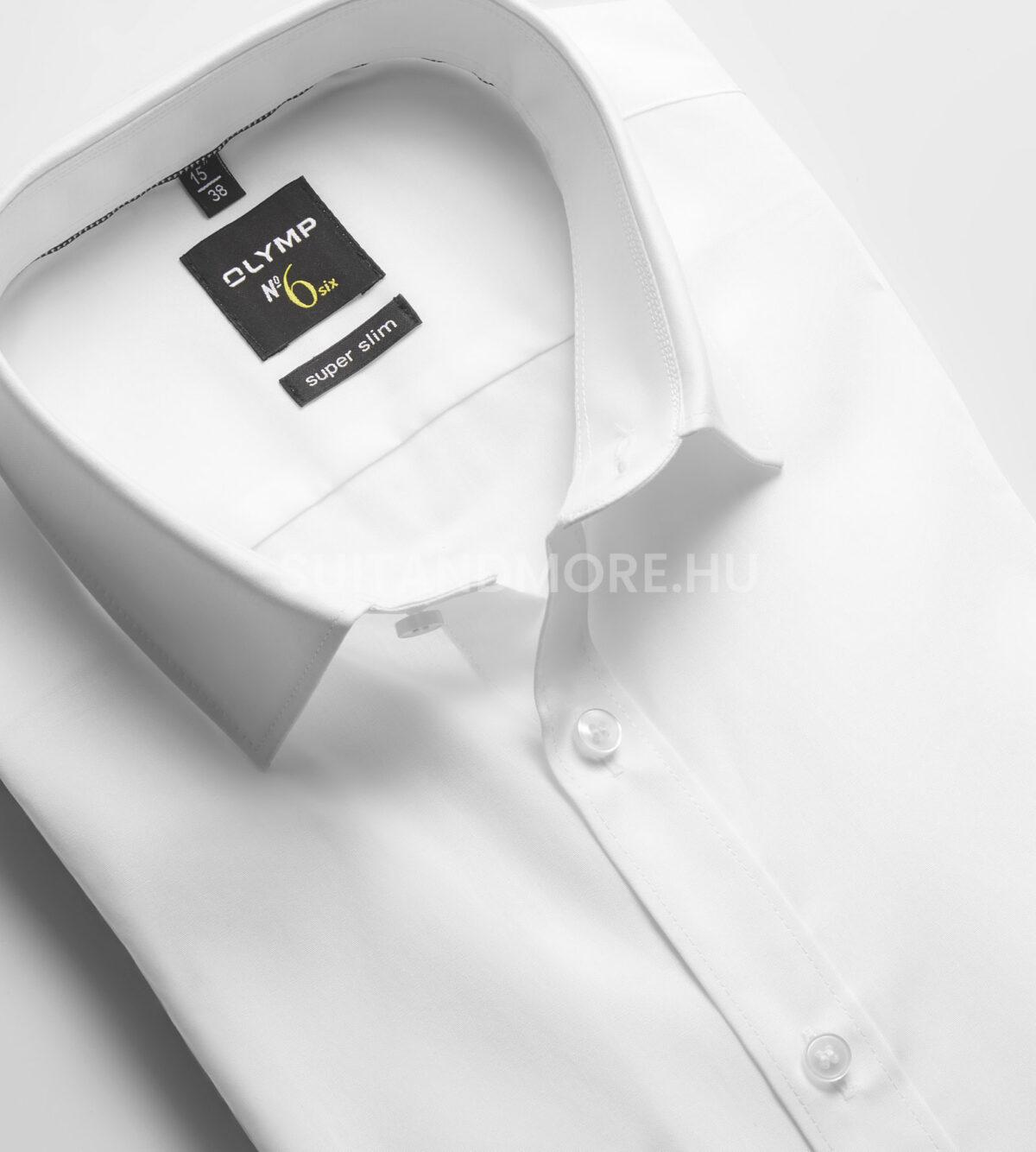 OLYMP-fehér-extra-slim-fit-vasaláskönnyített-ing-0466-64-00-02