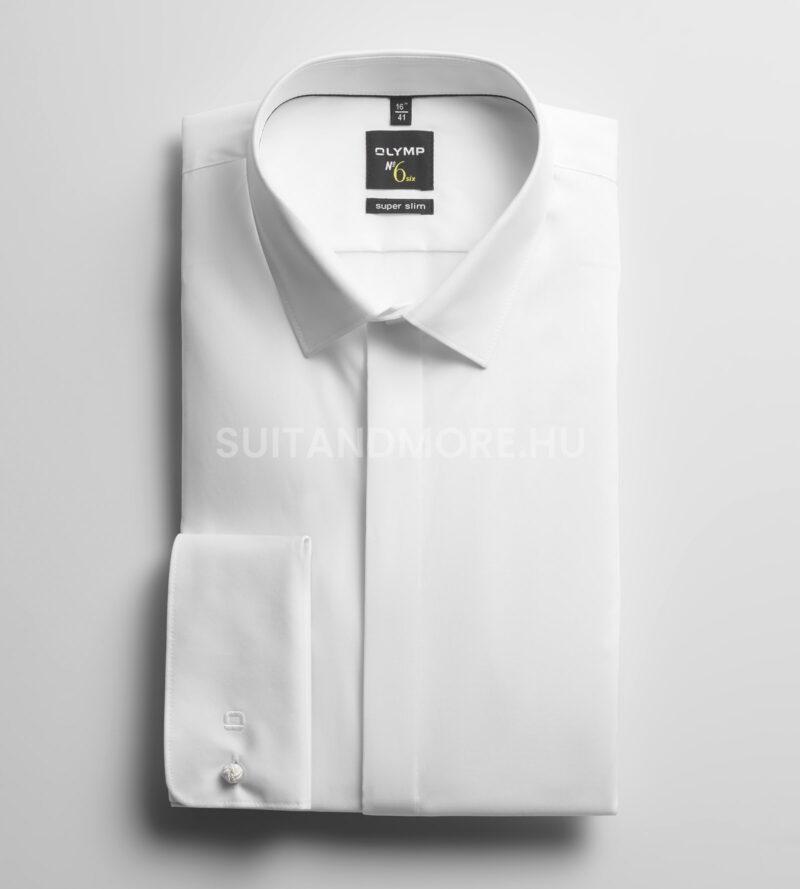 OLYMP-fehér-extra-slim-fit-vasaláskönnyített-ing-0491-65-00-01