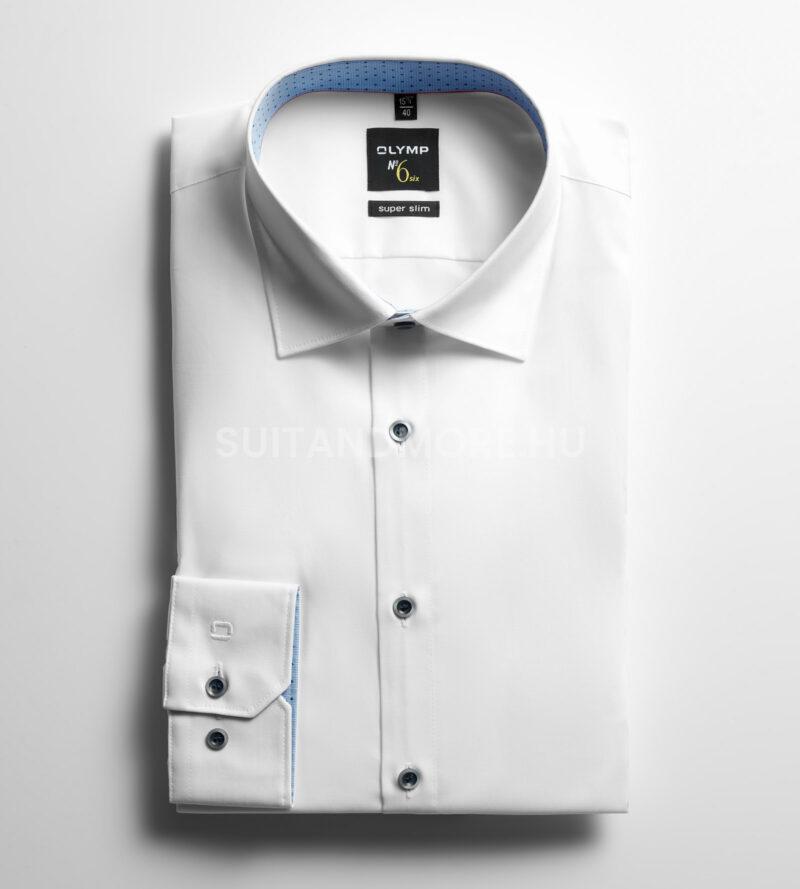 OLYMP-fehér-extra-slim-fit-vasaláskönnyített-ing-2528-84-00-01