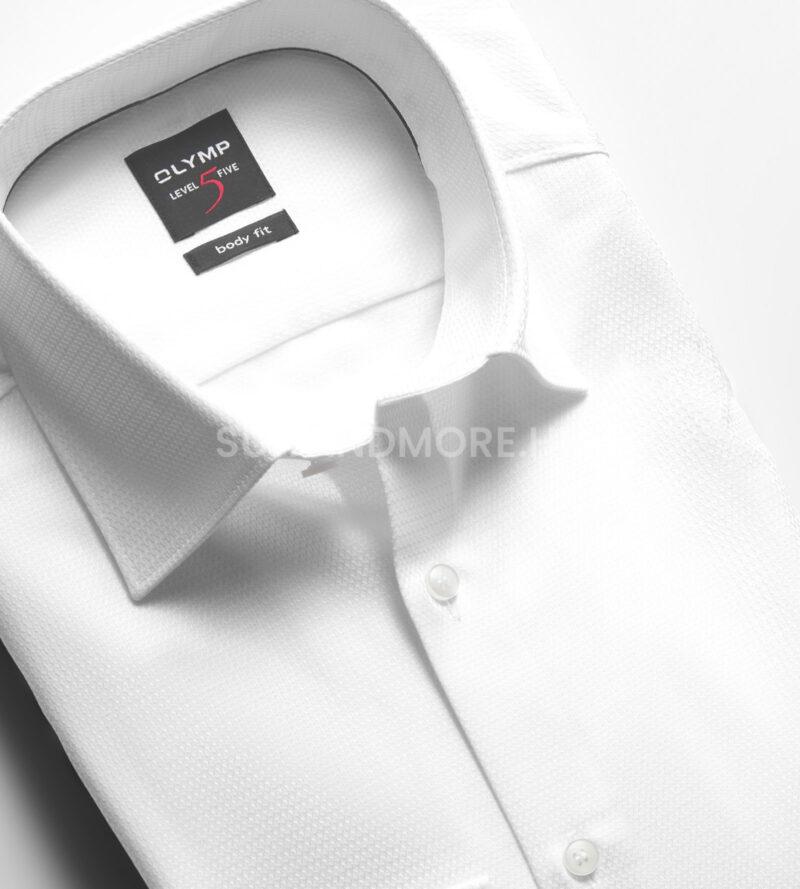 OLYMP-fehér-slim-fit-strukturált-vasaláskönnyített-ing-2046-34-00-02