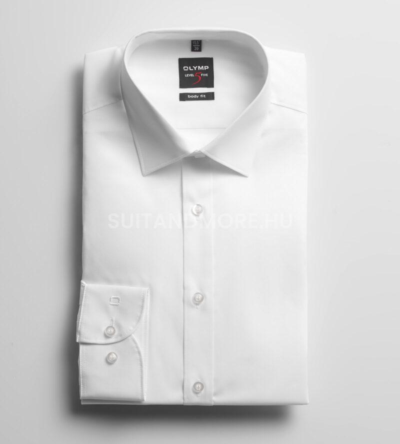 OLYMP-fehér-slim-fit-vasaláskönnyített-ing-6090-64-00-01