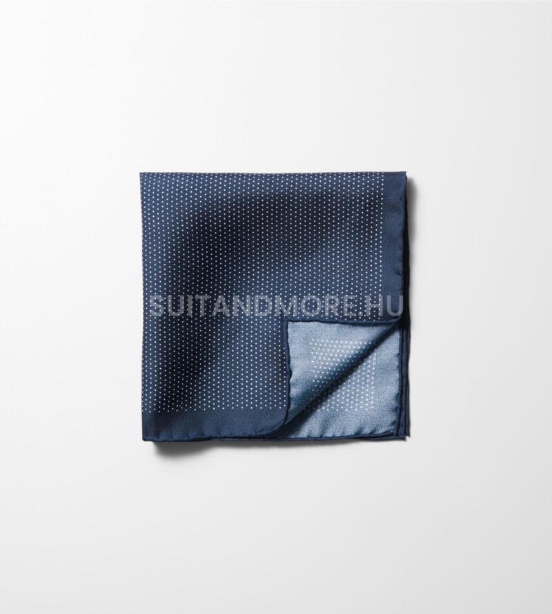 Olymp-kék-aprómintás-selyem-díszzsebkendő-1702-71-18-02