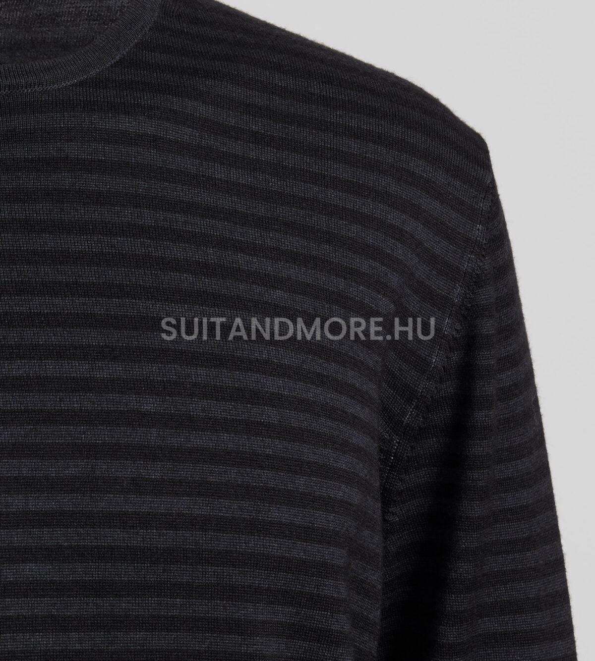 digel-sotetszurke-slim-fit-kerek-nyaku-csikos-gyapju-pulover-asa1-1-1288014-40-02