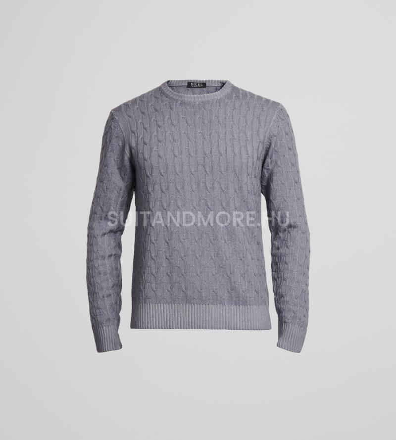 digel-vilagosszurke-modern-fit-kerek-nyaku-gyapju-pulover-faros1-1-1288004-44-01