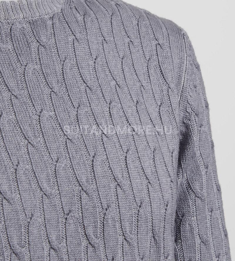 digel-vilagosszurke-modern-fit-kerek-nyaku-gyapju-pulover-faros1-1-1288004-44-02