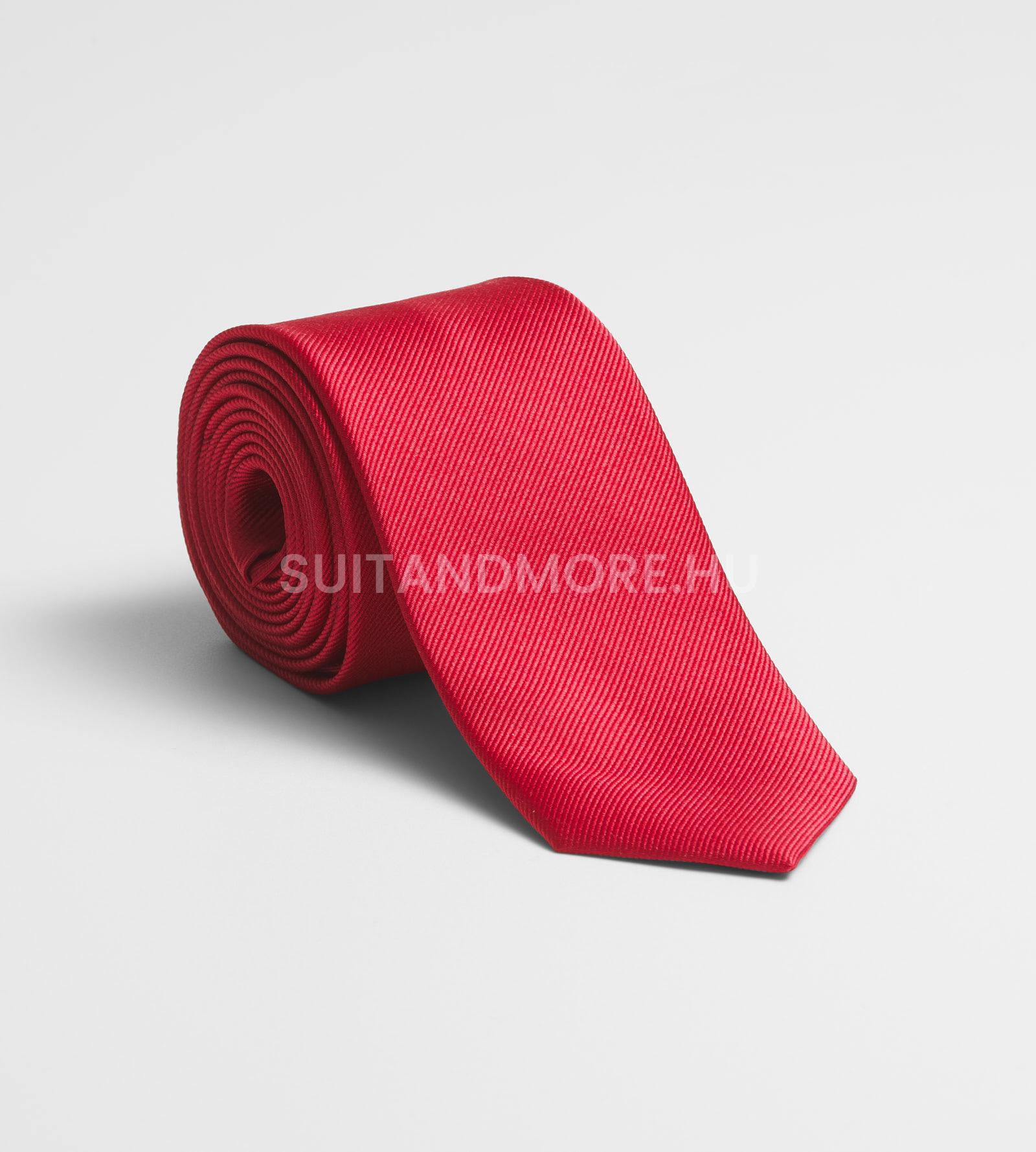 olymp-piros-strukturalt-selyem-nyakkendo-7696-00-36-01